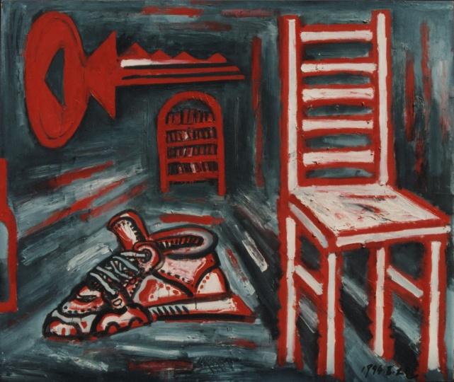 《日常史诗·室内》 170×200cm 布面油画 1994
