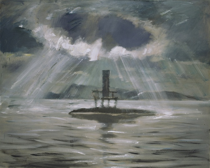 《光荣·孤岛》 180×145cm 布面油画 2005
