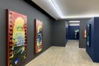 HdM画廊胡为一个展,一位艺术家用他的身体消化的地理,胡为一,孙文杰