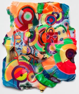 丹尼尔·克诺尔 《画布雕塑系列》174×143×13cm 抗紫外线聚氨酯 艺术装饰 2020