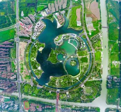 上海之鱼俯瞰图