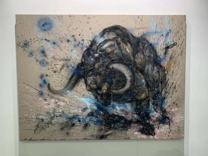 陈英杰作品已售,是白石画廊销售最好的艺术家之一