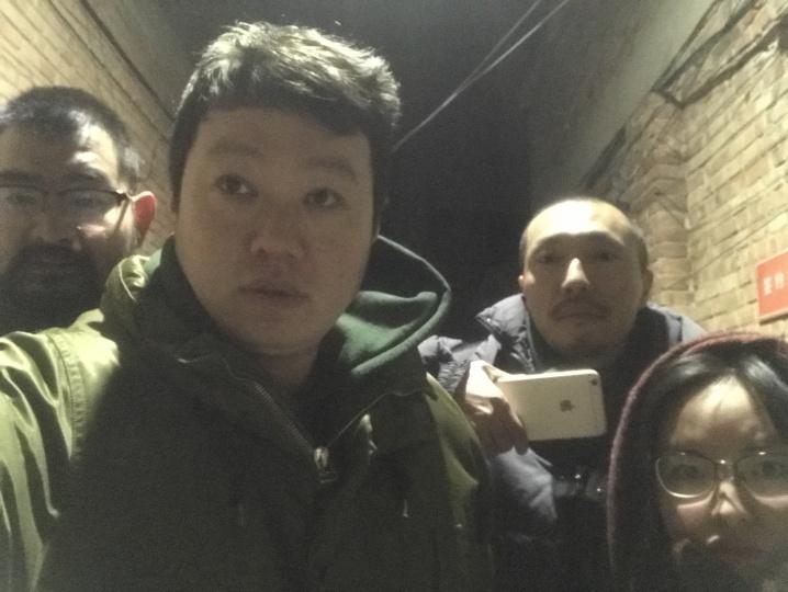 2017年寒冬 第一波北京清理人口后崔灿灿和朋友在北京新建村
