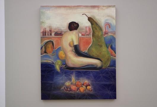 《水果与水果人》 120x80cm 布面油画 2021